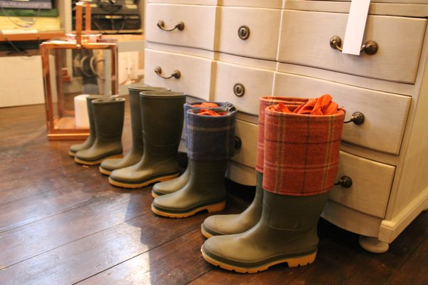 A new home for our display wellies