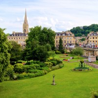 garden design in bath